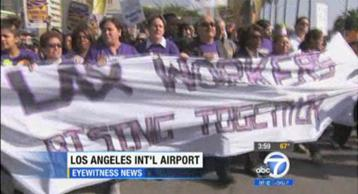 Just another SEIU protest