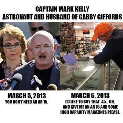 Colorado Peak Politics Gun Store Reject Mark Kelly Has Ar 15