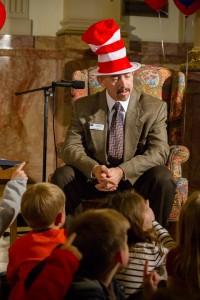 Joe Garcia Dr Seuss hat