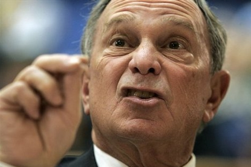BLOOMBERG'S BACK: NYC Mayor Gives $1 Million to Billion Dollar Tax Hike Campaign