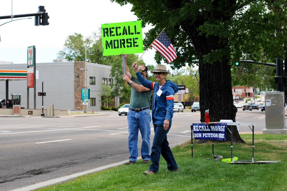 LOPSIDED: Morse Front Group Taking Special Interest Cash, Recall Group Funded By Small Donors