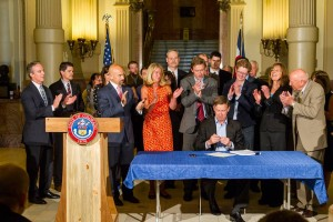 BIPARTISAN BYPASS: Hick Signs Election Fraud Bill Into Law