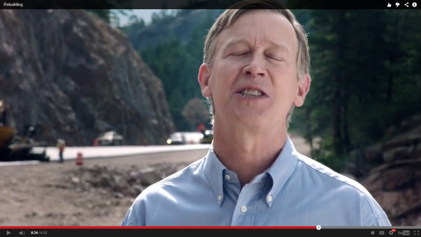 Hickenlooper's basement strategy goes negative with bizarre 'vacation' ad