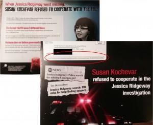 Disgraceful flyers