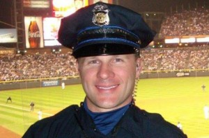 Officer John Adsit, courtesy of his GoFundMe.com page