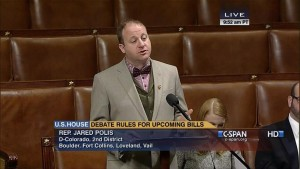 Polis ditches clip-on tie!