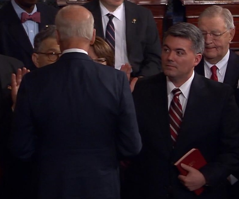 Gardner is sworn in