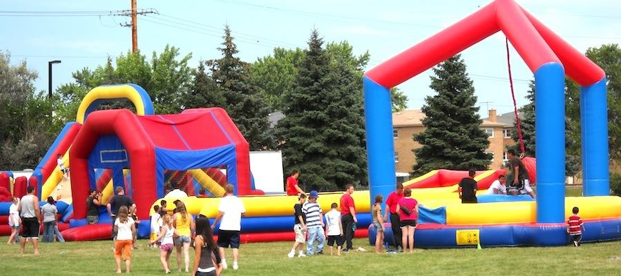 adult bouncy house