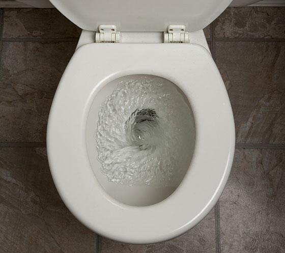 Почему не тонет кал при смывании
