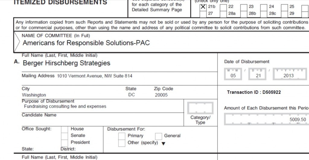 Americans for Responsible Solutions PAC