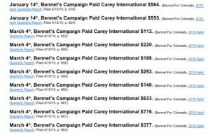Bennet's use of Carey International