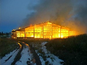 """Animal activists from Earth Liberation Front set fire to Vail Resort properties on Oct. 19, 1998 to """"save"""" the lynx."""