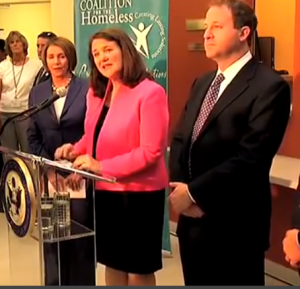 From left: Nancy Pelosi, Diana DeGette, Jared Polis.
