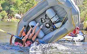 rafting flip
