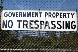 trespassingno