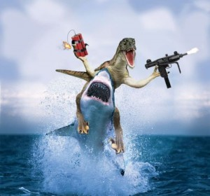 hellyes2-shark-dinosaur-gun-dynamite