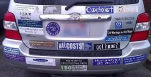 Accident-prevention bumper.