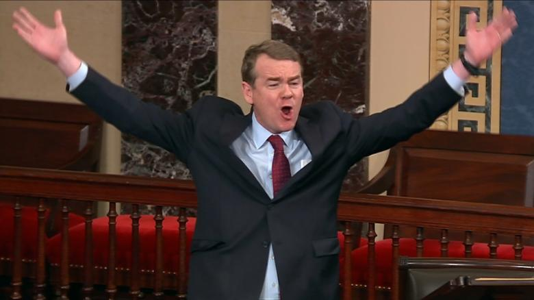 Sen. Bennet thinks it reasonable to fear 1 in 11,125 chance of death by mass shooting