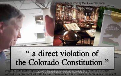 Petition demands Hickenlooper's ethics hearing be held in public
