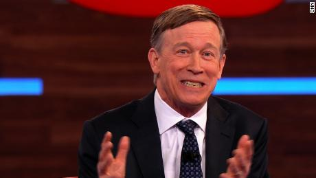 Hickenlooper admits his campaign is floundering