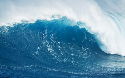 Outed: Denver Post editor's desktop depicts blue wave crashing over capitol