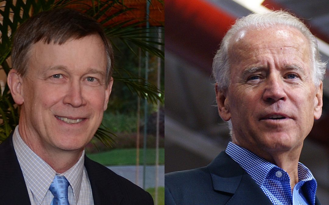 Biden and Hickenlooper Would Eliminate Fracking in Colorado