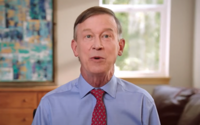 Remember that time Hickenlooper helped fund riots in Denver? We do.