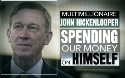 Ad slams wealthy Hickenlooper for using taxpayer dollars like a personal slush fund