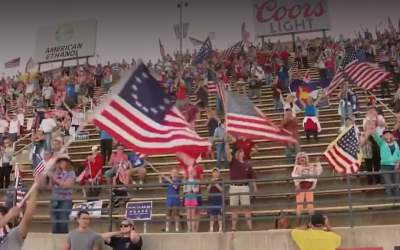 Government sues to block future conservative political rallies at speedway