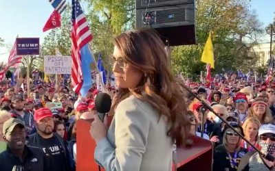Boebert spoke on gun rights at D.C. rally where fascists attacked GOP voters