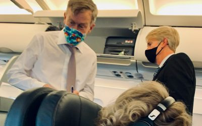 Hick flies first class while Coloradans struggle to make ends meet