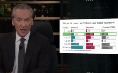 Bill Maher rips liberals for COVID ignorance, pointless shutdowns