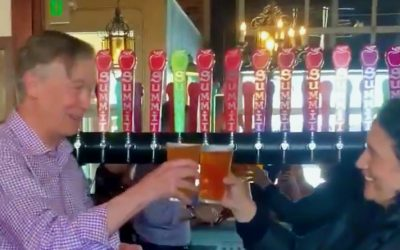 Bottoms up! How Hickenlooper spent his congressional work period