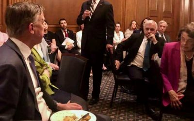 Hick's boorish behavior embarrasses Democrats lunching with President Biden