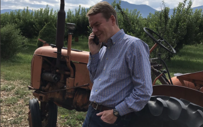 Bennet's staged tractor photo-op gets absolutely dragged