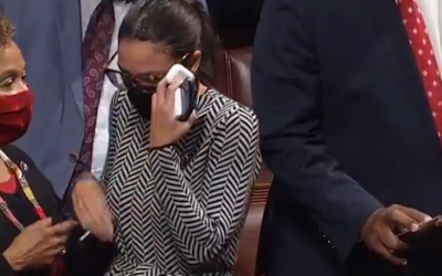 House votes to support Israel, AOC bursts into tears